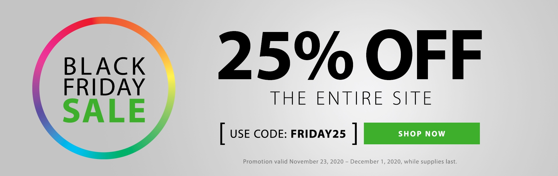 Black Friday Sale! Take 25% OFF Sitewide. Use Code: FRIDAY25. Shop Now!