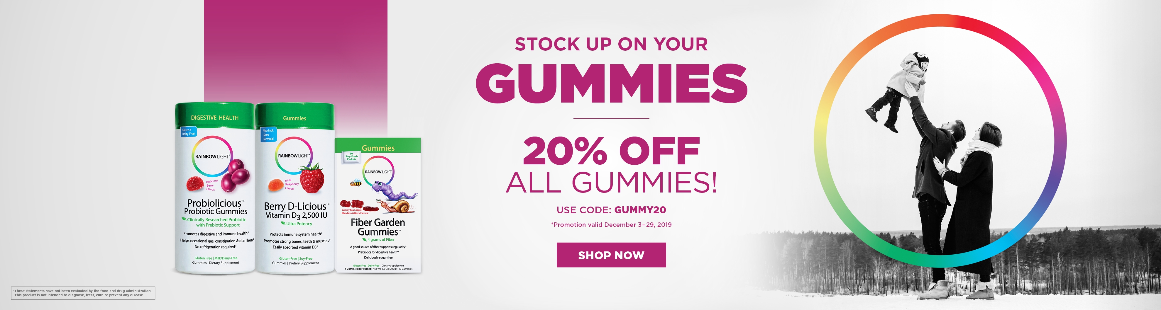 20% OFF the Gummy Category